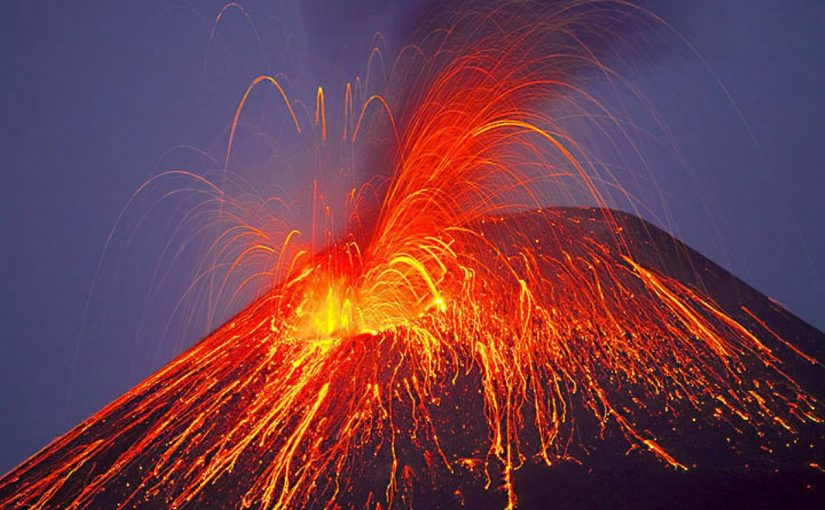 Dream Meaning of Volcano